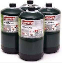 Coleman propane fuel cylinders 16 Oz 4 pack ✅FREE SHIPPING🚛📦 $49.99