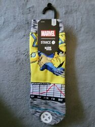 Disney Marvel Stance Kids Wolverine Crew Socks Size S 7 10 1 Pair New With Tags $9.00
