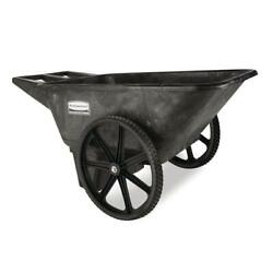 Rubbermaid Commercial Products Yard Cart 7.5 Cu Ft Plastic