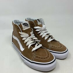 Vans Off The Wall Women's Brown White High Top Lace Up Sneaker Size 6 $34.99