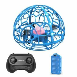 MINI 3D Flip Drone Kids Toys Hand Operated Induction Levitation RC Quadcopter $19.49