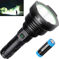 BERCOL Rechargeable LED Tactical Flashlights High Lumens Super Bright 100000 Lu $52.71
