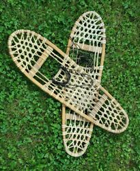 Vintage Vermont Tubbs Snowshoes 10x36 S 3 USED $99.99