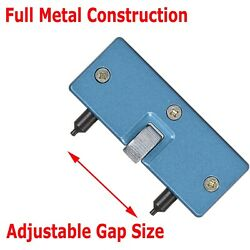 Adjustable Rectangle Watch Back Case Cover Opener Remover Wrench Repair Kit Tool $4.75