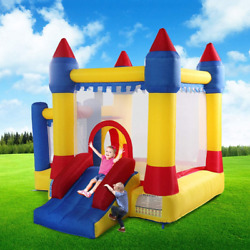 Bounce House Inflatable Castle Kids Jumper Moonwalk Without Blower Commercial $165.99