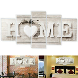 5pcs Unframed Modern Art Oil Painting Print Canvas Picture Home Wall Room Decor $12.35