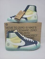 Nike Blazer Mid '77 quot;Move To Zeroquot; Armory Navy White DH4505 400 Mens Size 8 13 $145.00