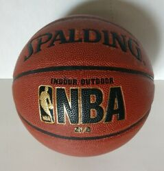 Spalding NBA Zi O Tournament Basketball 29.5 Inch Indoor Outdoor Comp Leather $39.95