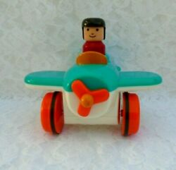 Mattel Lego Duplo Helicopter Toddler Toy 5.5quot;Tall x 6quot; Wide $14.39