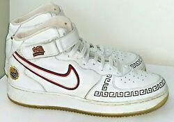 Nike Air Force 1 Mens 13 White Chinese Basketball Shoes Yao Ming 309955 111 $84.99