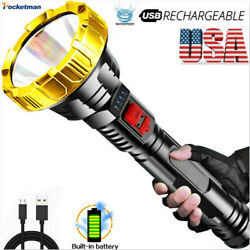 200000LM LED Flashlight Rechargeable Tactical Torch 3Modes Torch Lantern US $10.89
