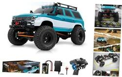 1:10 Scale Large RC Rock Crawler 4WD Off Road RC Cars Remote Blue Green $438.42