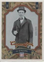 2012 Panini Cooperstown Crystal Collection 299 Al Spalding #15 HOF $5.13
