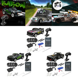 Full Scale Remote Control 4WD Drift Racing Car 4WD RC Brushless Rally Car $100.79