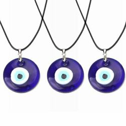 Lucky Evil Eye Beads Necklace Turkish Blue Eye Pendant Clavicle Women Jewelry C $2.69