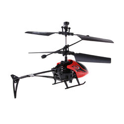 LED Lights RC Helicopter Drone Quadcopter with Gyro Kids Flying Toy Gift $12.22