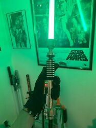 Saberforge Prodigal Son MK3 Veteran Tier Green LED With Blade $600.00