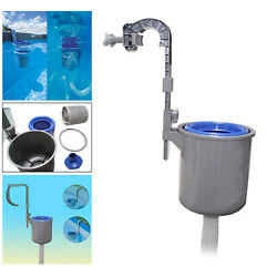 Wall Above Ground Mount Swimming Pool Surface Automatic Clean Skimmer Pool $61.01