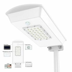 Commercial Outdoor Street Light Solar Power Led Ip65 Dusk To Dawn Lamp 1500Lm