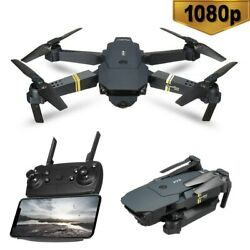1080P WIFI Wide Angle HD Camera Foldable Arm RC Quadcopter Drone X Pro Dron Toys $29.99