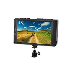 FW450 4.5 Inch DSLR On Camera Field Monitor 4K HDMI Input Output Small HD $183.19
