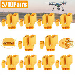 20PCS Amass XT90 Male Female Connector 4.5mm Bullet Plug Adapter for RC Battery $15.98