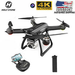 Holy Stone HS700D GPS Drone With 4K HD Camera FPV RC Quadcopter Brushless Motor $199.95