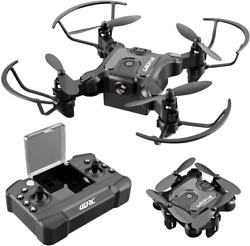 4DRC Mini Drone for Kids and Beginners RC Foldable Nano Pocket Quadcopter with 3 $38.98
