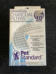 Premium Charcoal Filters Pioneer Pet Fountains 6 Pack New PS PPWF $11.69