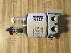 R12T FOR MARINE SPIN ON FUEL FILTER WATER SEPARATOR 120AT 10 Micron New $18.95
