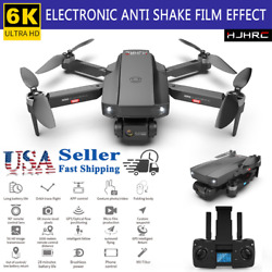 Professional Drones GPS 5G FPV 6K HD Dual Camera Foldable Brushless Quadcopter $136.87