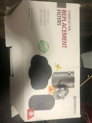 """13 Charcoal filters for compost bins 6.25"""" diameter round $12.00"""
