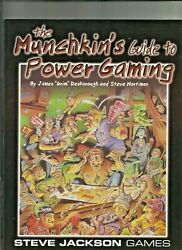 The Munchkins Guide To Power Gaming Steve Jackson Games $12.99
