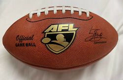 Spalding Leather AFL Arena Football Official Authentic Game Ball $69.99