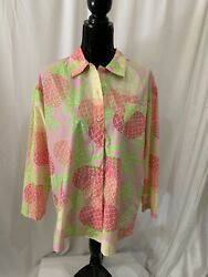 lilly pulitzer size M womens vintage top $22.00