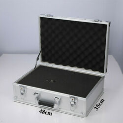 Professional Aluminum Large Camera Briefcase Flight Carrying Case with Foam $59.99