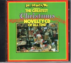 DR. DEMENTO PRESENTS THE GREATEST CHRISTMAS NOVELTY CD OF ALL TIME 1989 CD $5.99