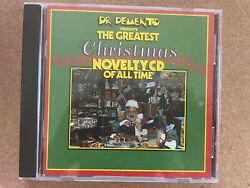 DR. Demento Presents The Greatest Christmas Novelty Songs of All Time CD $6.00