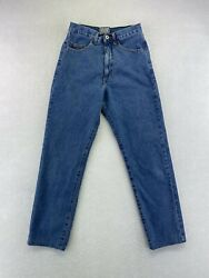 Vintage For Joseph Women#x27;s High Rise Mom Jeans Tapered Leg Colette USA Size 28 $24.99