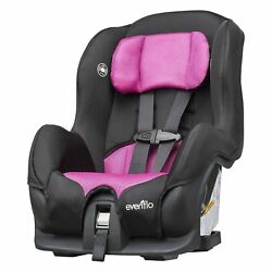 Evenflo Convertible Car Seat Black amp; Pink Brand New In Box HTF $109.99