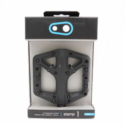 Crank Brothers Stamp 1 Mountain Bike Pedals Black Large 16267 $42.99
