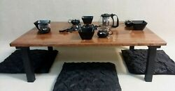 Chabudai Dining Table Low Table Japanese Table Coffee Table Floor Table* $250.00