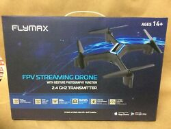 Flymax WiFi Quadcopter 2.4G FPV Streaming Drone Blue OrchidFlying $39.99