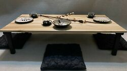 Chabudai Dining Table Floor Table Japanese Table Low Table Coffee Table $369.00