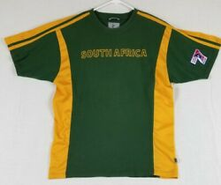 Green and Yellow Kukri South African Rugby T shirt Jersey #7 $18.95