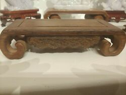 Chinese Wood Stand $69.99