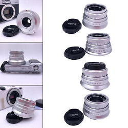 Prime Fixed Lens Portable Outdoor F 1.8 Large Aperture for Micro Cameras $44.54