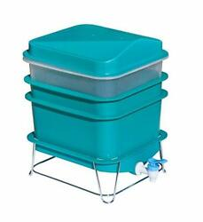 4 Tray Worm Factory Farm Compost Small Compact Bin Set $67.99