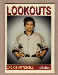 Jackie Mitchell girl who struck out Ruth amp; Gehrig MC Private Stock #30 NM cond $7.99
