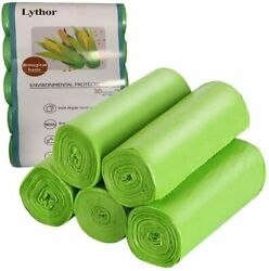Compostable Trash Bags 2.6 Gallon Small Disposable Compost Bags 150 Count Bags $15.38